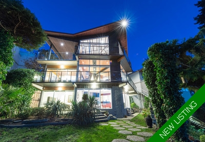 Tsawwassen Waterfront - Magnificent Cliff-Side Estate for sale: 3 bedroom 2,437 sq.ft.
