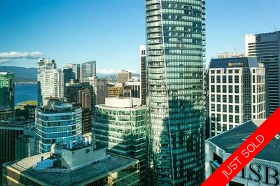 Coal Harbour - Downtown Apartment for sale: The Residences on Georgia 1 bedroom 603 sq.ft. (Listed 2017-07-04)